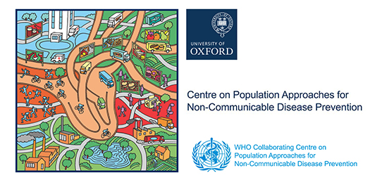 Centre on Population Approaches to Non Communicable Disease Prevention logo.